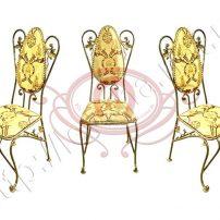 Кованые стулья. Материал бронза