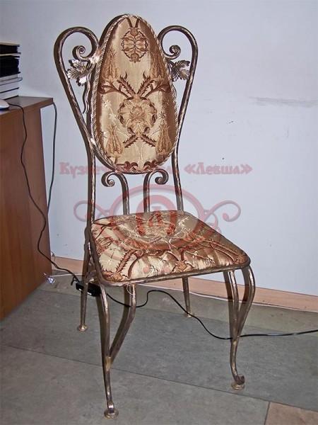 Кованый стул (материал бронза)