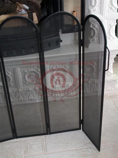 Защитный экран камина